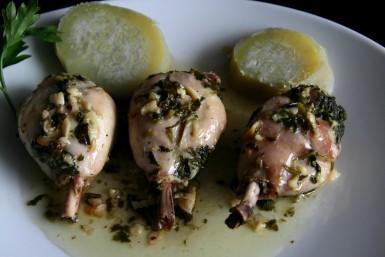 Pollo al ajillo (2)