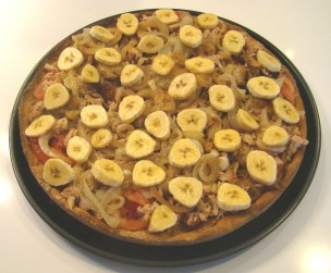 pizza platano1