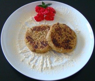 TORTITAS DE GARBANZOS