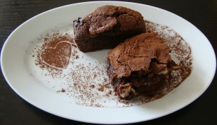 BROWNIE CON FRUTOS SECOS