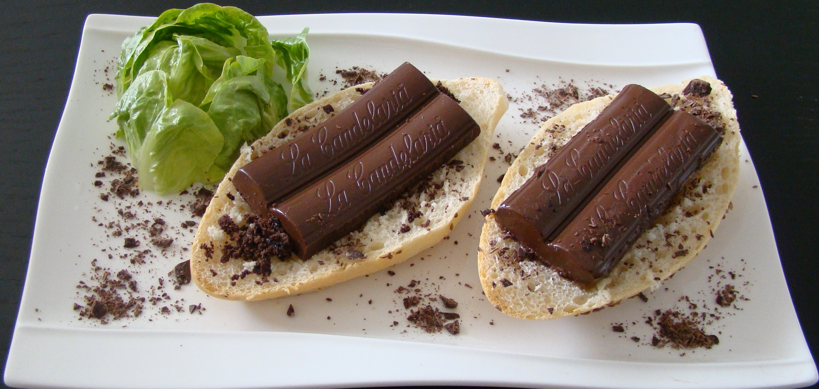 BOCADILLO DE CHOCOLATE
